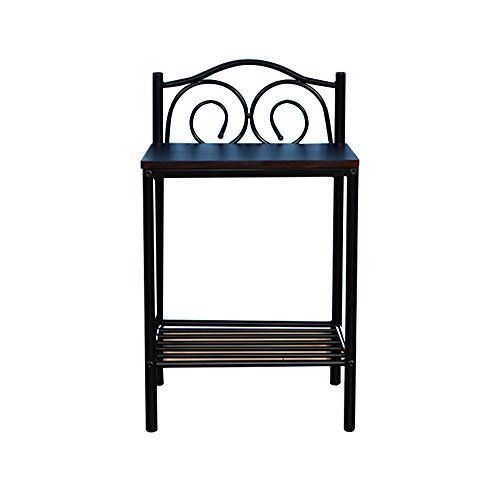 Pm Nightstands Bedroom Bedside Table Bedroom Solid Wood Bedside Table Iron Small C Living Room Wood Floor Solid Wood Bedside Tables Wrought Iron Bedside Tables