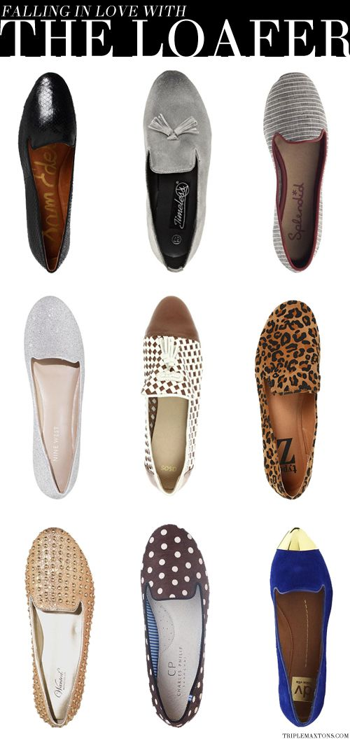 Trend Spotting: The Loafer | STYLE'N