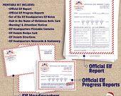 Elf Headquarters Kit, Christmas Elf Kit via etsy #elfonashelf #elfshelf #elfideas #xmas #christmas #etsy #elflife #instantdownload #elfguru