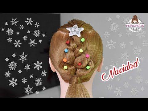 12 Peinados para ninas de navidad