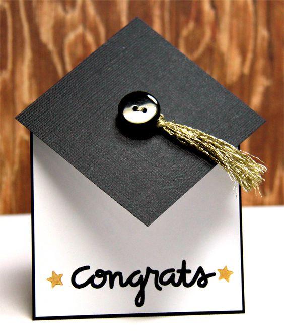 Congrats card by Lori Barnett - PaperSmooches -  Bold Buzzwordsset