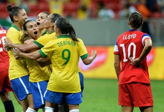 Blog Esportivo do Suíço: CBF cria seleção feminina permanente para disputar Copa e Olimpíada