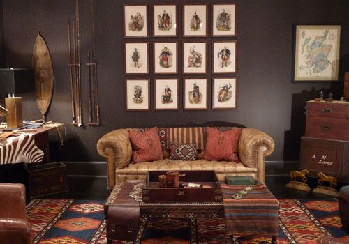 Great Club Style Couches | British Campaign And Club Furniture .