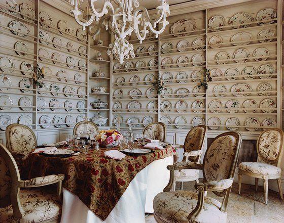Janet de Botton's dining room