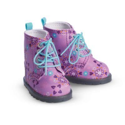 Fun Floral Boots for Dolls | furntm | American Girl