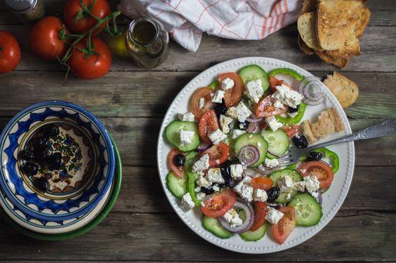 salade grecque - Cuisine moi un mouton