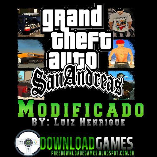 Gta San Andreas Modificado com carros Brasileiros (PC) ~ Download Games