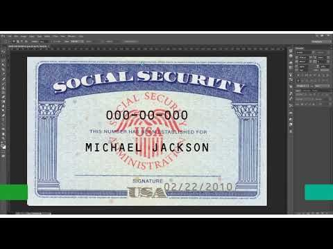 Social Security Card Psd Template And Create Your Social Security Card In 5 Minutes Only For 25 Usd Social Security Card Invoice Template Word Money Template