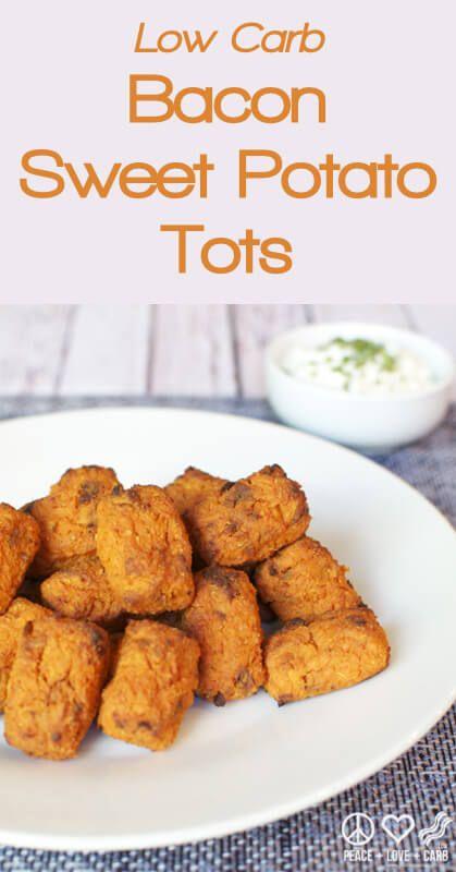 Sweet potato tots, Potato tots and Bacon on Pinterest