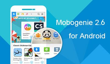 Mobogenie for Android,Redefine your Android life