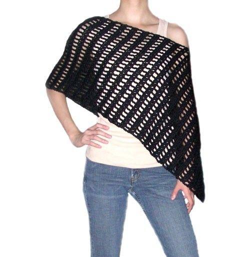 Free Crochet Poncho Patterns – Easy Crochet Patterns