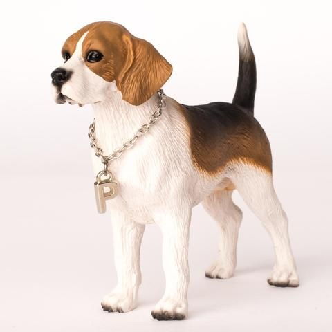 Beagle Figurine Personalized Dog Figurines Dog Statue Dog
