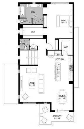 Double Story House Plans Upside Down House Designs Reverse Living House Plans Seabreeze Double Story House Upside Down House Architectural Floor Plans