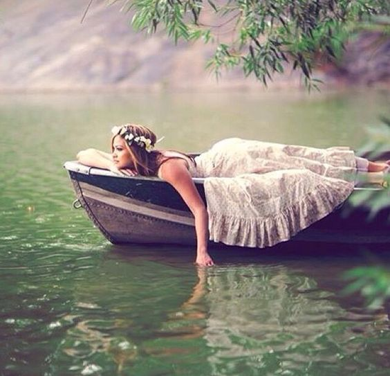 River Photo Shoot Ideas