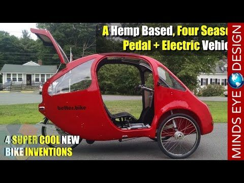 Solar Powered E Bike Trike Designed To Reduce City Traffic Youtube New Technology Gadgets Bike Ebike