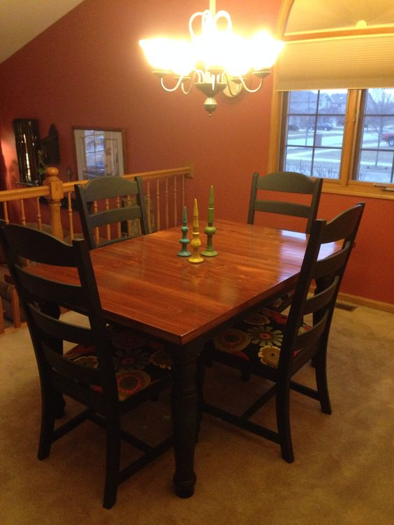 finished refinished broyhill fontana dining room set i