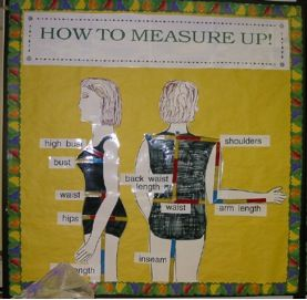 How to Measure up | Bulletin Board Ideas | Pinterest | How ...