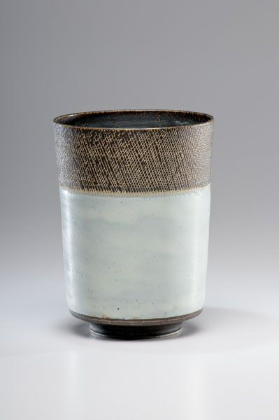 Lucie Rie, Vessel with Sgrafitto Rim - Cowan's Auctions