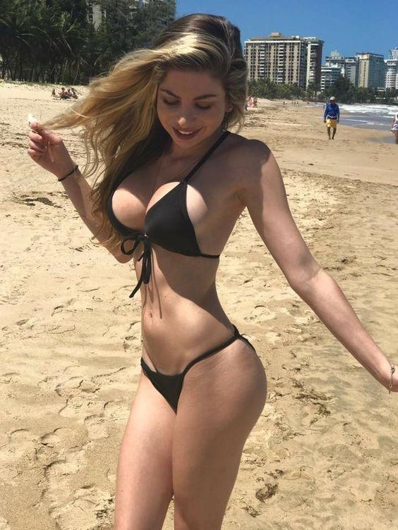 World woman in most beautiful bikini the Bikini beauties: