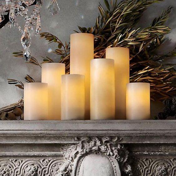 Nyhet!! Vi har fått inn nydelige ledlys fra Safe Candle. Flere størrelser også store flott som kan kan stå ute. Ta turen innom #karismainterior #follow #inspiration. News
