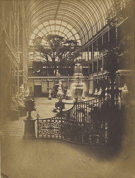 Interior of Crystal Palace, London, 1851