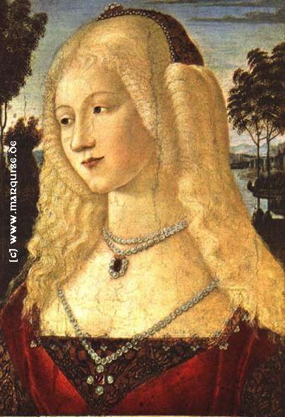 Lady by Neroccio, c1490