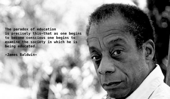 James Baldwin on social conscious.