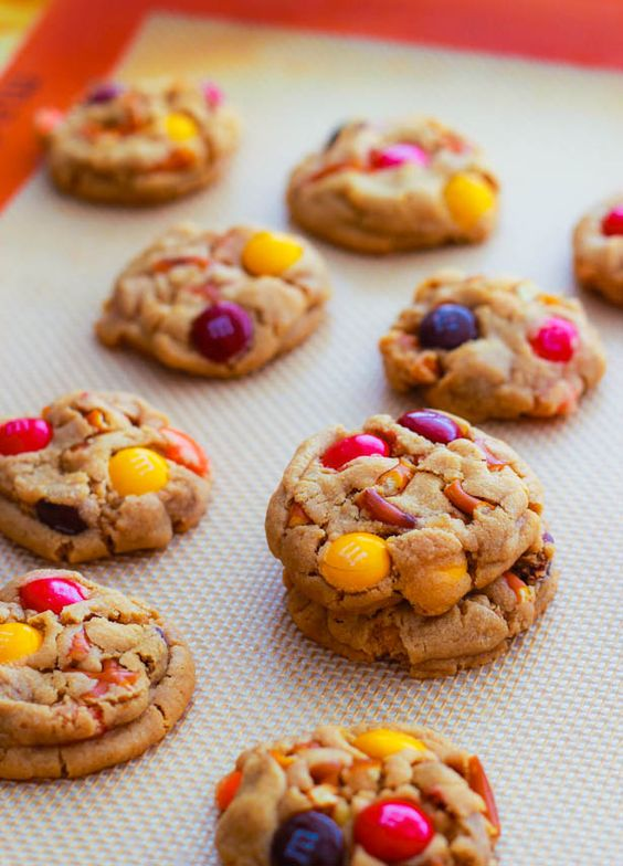 Peanut Butter Pretzel M Cookies