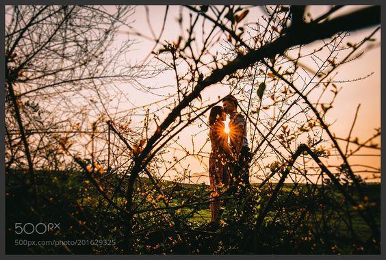 Sunset in Moc Chau Son La Viet Nam. by tuannc