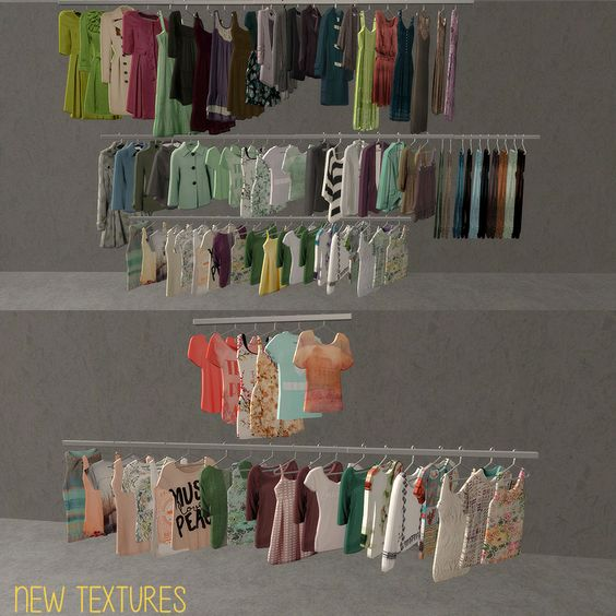 Sims2 - Clothes Racks - Downloads - BPS Community