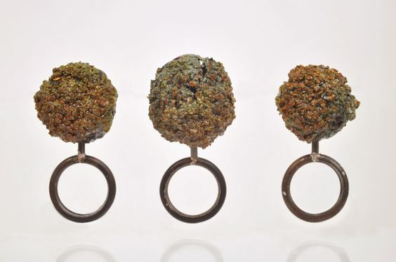 Heidemarie Herb - collection herb's garden organic fragment, 925 Ag, 2012