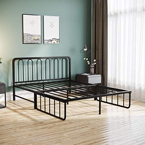 Amazing Offer On Fiudx Metal Bed Foldable Iron Daybed Bed Frame