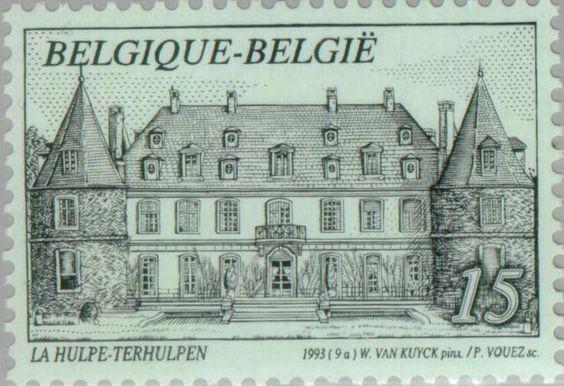 Sello: La Hulpe - Terhulpen (Bélgica) Mi:BE 2564,Sn:BE 1494,Bel:BE 2512