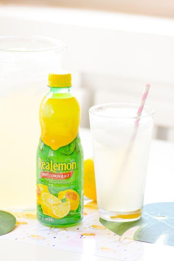 Easy Homemade Lemonade Recipe Kara S Party Ideas Homemade Lemonade Recipes Lemonade Recipe Using Lemon Juice Homemade Lemonade