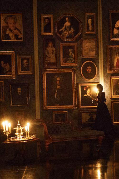 "gallery, ancestors, old Reminds me of ""Reckless"" by Cornelia Funke"