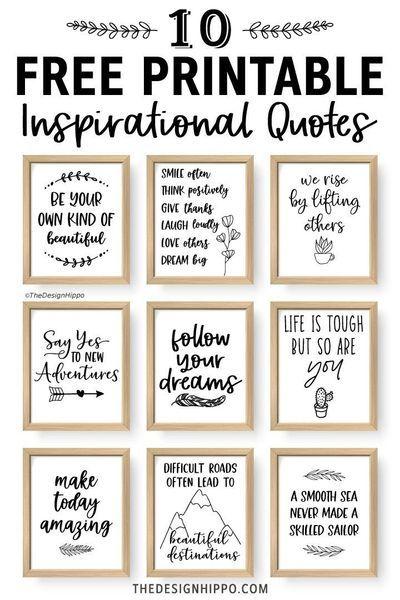 Kind Words for Hard Times Digital Download Prints Encouragement Card Bundle