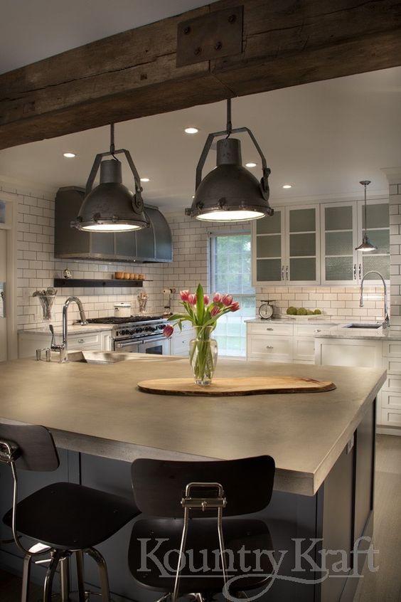 Custom Kitchen Cabinets Designed By Galen Clemmer Of Kountry Kraft Inc This Industri Custom Kitchen Cabinets Design Custom Kitchen Cabinets Eclectic Kitchen