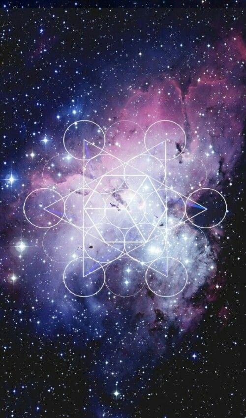 geometric galaxy wallpaper - photo #6