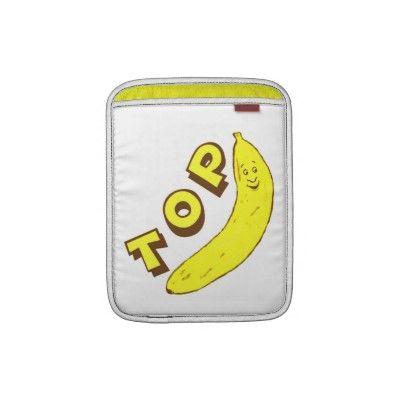 Funny Office Boss Top Banana Rickshaw iPad Sleeve #boss #zazzle #jamiecreates1 #work