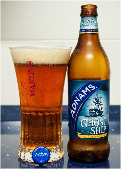 Adnams Ghost Ship British Beer English Beer British Ale