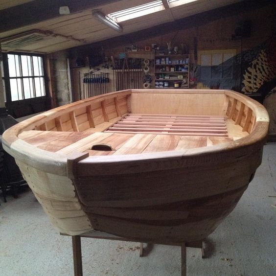 There's a boat in my workshop! Children's bed made in solid English Ash. #boat #bed #aliceblogg