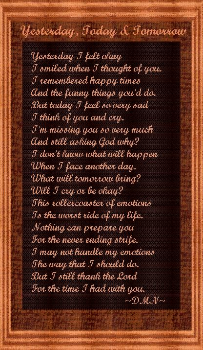 My Mother In Heaven Poem | nov 7 would have been my mothets birthday. See this made me think of her...misd you mom..I thank god you the time i had with you..my you rest on peace mom