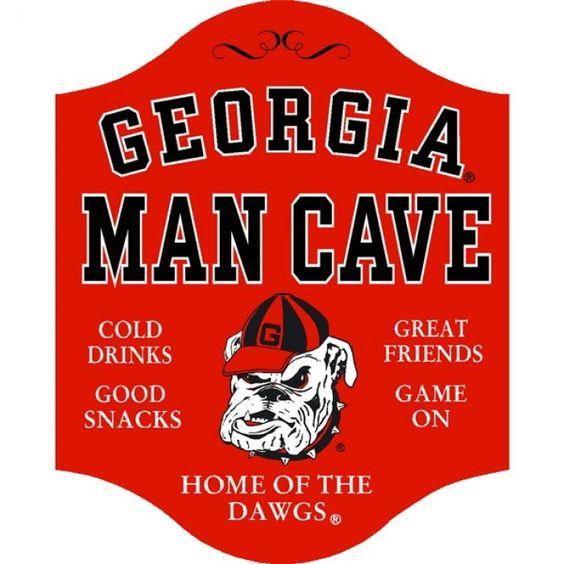 Uga Man Cave Ideas : Ga bulldogs decor georgia dawgs man cave