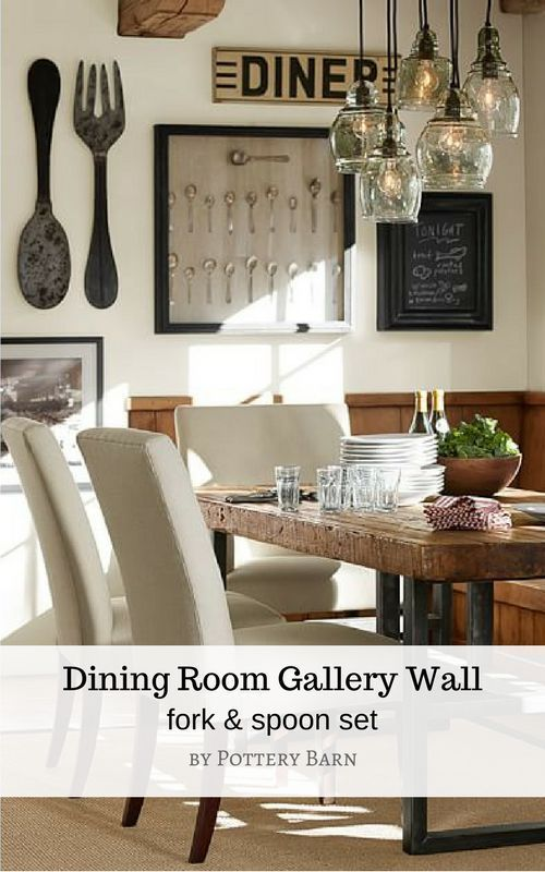 99 At Pottery Barn Metal Spoon Fork Wall Art If You Have A