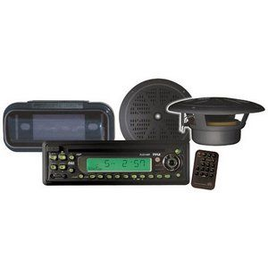 PYLE PLCD14MRKT Waterproof Marine CD/MP3 Player Receiver with Speaker and Splash Proof Radio Cover by Pyle. $84.44. From the Manufacturer                    The PLCD14MRKT includes a full-featured headunit, two pairs of waterproof speakers, weatherproof shield, and a remote control     Click here for a larger image     The included headunit has  a 3.5mm aux-in jack to use with any portable music player or smartphone   Click here for a larger image      Wiring diagram: click here...