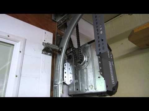 Craftsman Side Mount Garage Door Opener Jackshaft Youtube In 2020 Side Mount Garage Door Opener Jackshaft Garage Door Opener Garage Doors