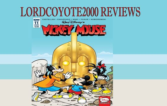 Mickey Mouse #11 comic book review #260