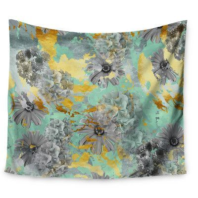 KESS InHouse Floral Blush by Zara Martina Mansen Wall Tapestry Size: