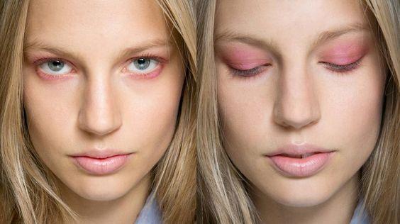 Ombretto pastello #makeup #makeuppastel #pink