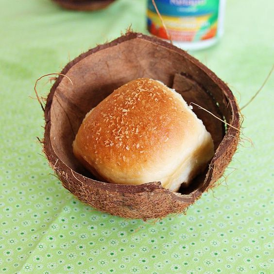 Pães de coco Receita de Roxanashomebaking.com